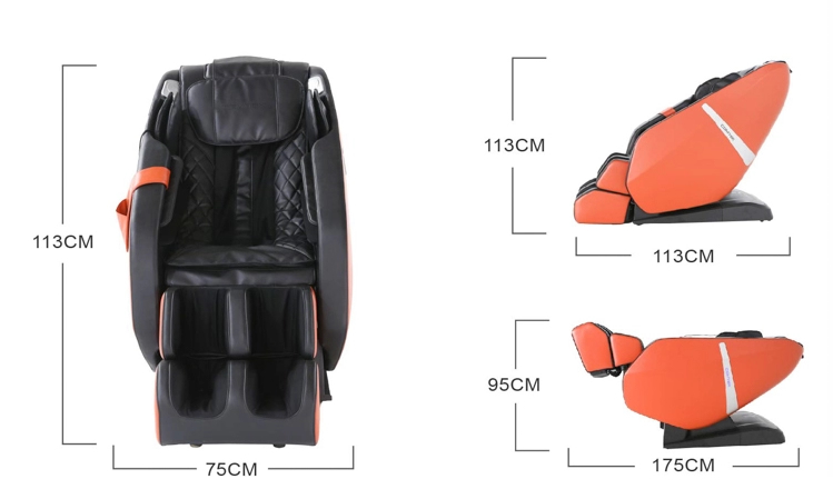 Dimensions du Fauteuil de massage Komoder Everest