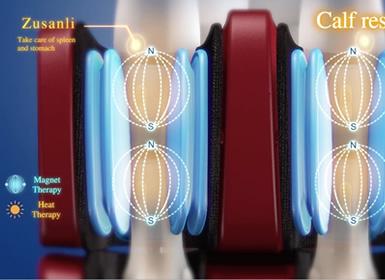 massage par pression pour les pieds du fauteuil Komoder Victoria